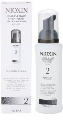 Nioxin System 2 bőrápolás a finom természetes haj jelentős elvékonyodása ellen 3