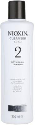 Nioxin System 2 tisztító sampon a finom természetes haj jelentős elvékonyodása ellen