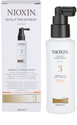 Nioxin System 3 Hautpflege bei beginnendem leichten Haarausfall von chemisch behandeltem Haar 2