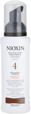Nioxin System 4 догляд за шкірою для тонкого хімічно пошкодженого волосся з  тенденцією до активного випадіння