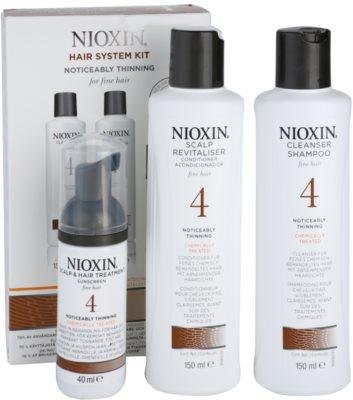 Nioxin System 4 Kosmetik-Set  I. 1