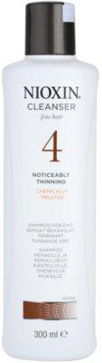 Nioxin System 4 šampon proti izrazitemu redčenju tankih in kemično obdelanih las