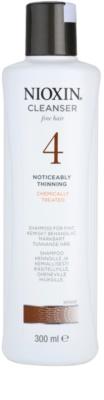 Nioxin System 4 szampon przy zawansowanym wypadaniu delikatnych włosów po chemicznej pielęgnacji