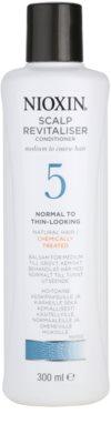 Nioxin System 5 lahek balzam za rahlo redčenje normalnih do močnih naravnih in kemično obdelanih las
