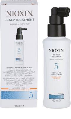 Nioxin System 5 tratamento de pele para rarefação suave de cabelo normal a forte, natural e quimicamente tratado 2