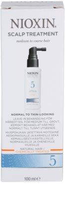 Nioxin System 5 tratamento de pele para rarefação suave de cabelo normal a forte, natural e quimicamente tratado 3