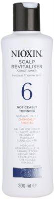 Nioxin System 6 condicionador leve para rarefação marcante de cabelo normal a forte, natural e quimicamente tratado