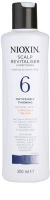 Nioxin System 6 lahek balzam proti izrazitemu redčenju normalnih do močnih naravnih in kemično obdelanih las