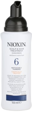 Nioxin System 6 kuracja skóry głowy przy zawansowanym wypadaniu włosów normalnych i grubych naturalnych oraz po chemicznej pielęgnacji 1