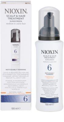Nioxin System 6 kuracja skóry głowy przy zawansowanym wypadaniu włosów normalnych i grubych naturalnych oraz po chemicznej pielęgnacji 3