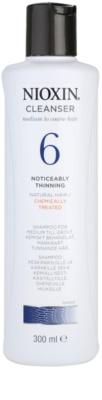 Nioxin System 6 čistilni šampon proti izrazitemu redčenju normalnih do močnih naravnih in kemično obdelanih las