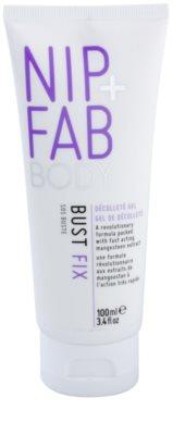 NIP+FAB Body Bust Fix sérum pro objem, zpevnění a vyhlazení poprsí