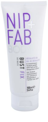 NIP+FAB Body Bust Fix serum za volumen, učvrstitev in glajenje prsi