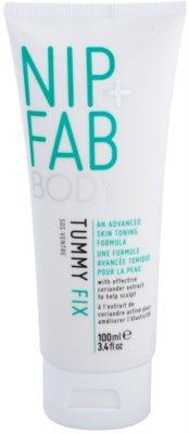 NIP+FAB Body Tummy Fix sérum de emagrecimento e reafirmante para estômago e quadris