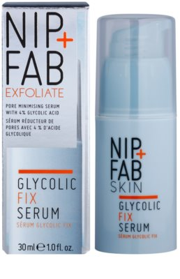NIP+FAB Skin Glycolic Fix сироватка для звуження розширених пор 1