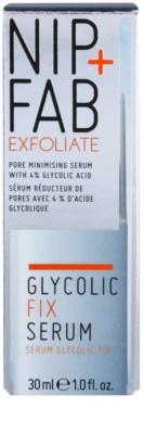 NIP+FAB Skin Glycolic Fix sérum na rozšířené póry 2