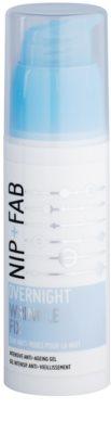 NIP+FAB Skin Overnight Fix crema anti-rid de noapte cu efect matifiant