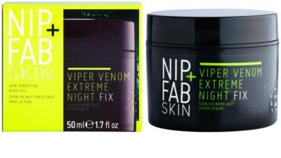 NIP+FAB Skin Viper Venom ekstra močna gladilna nočna krema proti gubam 2