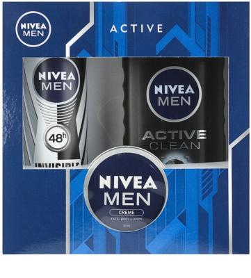 Nivea Men Active Clean косметичний набір II.