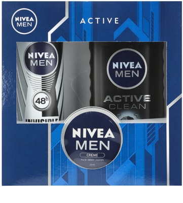 Nivea Men Active Clean Kosmetik-Set  II.