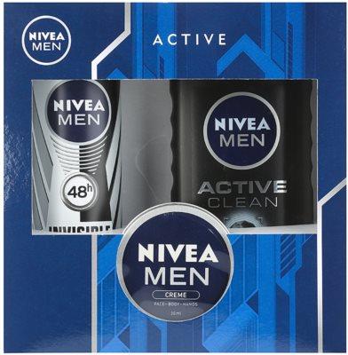 Nivea Men Active Clean kozmetika szett II.