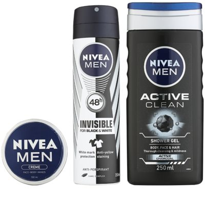 Nivea Men Active Clean Kosmetik-Set  II. 1