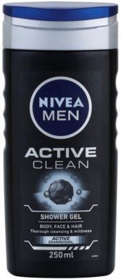 Nivea Men Active Clean gel de ducha para hombre