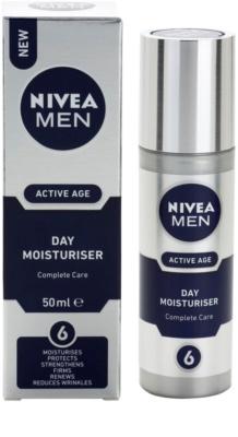 Nivea Men Active Age комплексний догляд 2