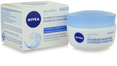 Nivea Aqua Effect зволожуючий денний крем для нормальної та змішаної шкіри 2