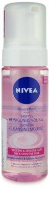 Nivea Aqua Effect почистваща пяна  за чувствителна и суха кожа