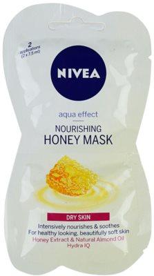 Nivea Aqua Effect tápláló mézes maszk