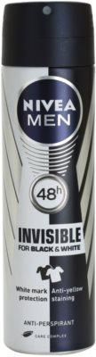 Nivea Men Invisible Black & White антиперспирант-спрей за мъже