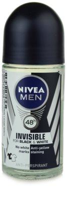 Nivea Men Invisible Black & White antiperspirant roll-on za moške