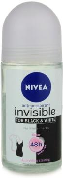 Nivea Invisible Black & White Clear roll-on antibacteriano