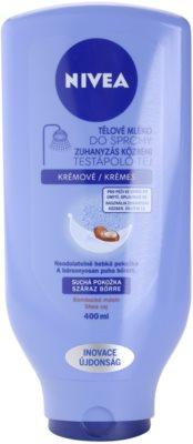 Nivea Body Shower Milk Bodymilch zum Duschen für trockene Haut