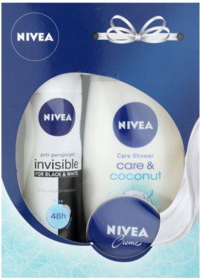 Nivea Invisible Black & White Pure coffret I.