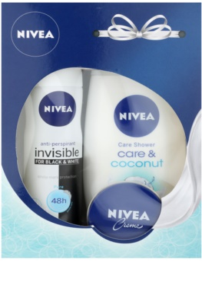 Nivea Invisible Black & White Pure козметичен пакет  I.