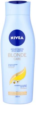 Nivea Brilliant Blonde sampon szőke hajra