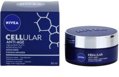 Nivea Cellular Anti-Age нощен подмладяващ крем 1