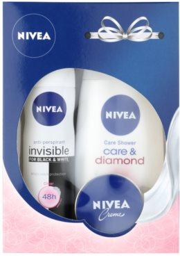 Nivea Care & Diamond coffret I.