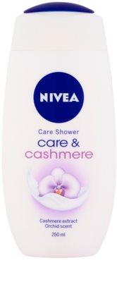 Nivea Cashmere Moments crema de ducha 1