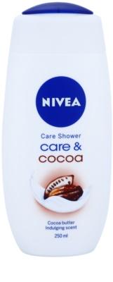 Nivea Care & Cocoa kremowy żel pod prysznic
