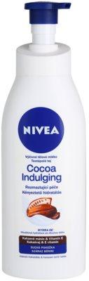 Nivea Cocoa Indulging lotiune de corp hranitoare pentru piele uscata