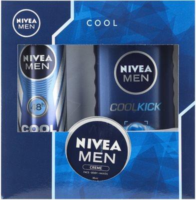 Nivea Men Cool Kick lote cosmético II.