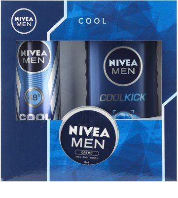 Nivea Men Cool Kick zestaw kosmetyków II.