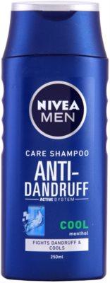 Nivea Men Cool champô anticaspa para pele irritada e com prurido