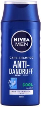 Nivea Men Cool champú anticaspa para pieles irritadas con picor