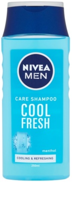 Nivea Men Cool sampon normál és zsíros hajra