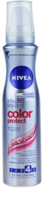 Nivea Color Protect pěnové tužidlo pro zářivou barvu vlasů