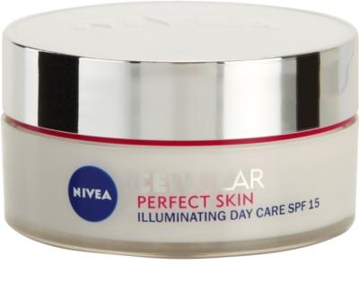 Nivea Cellular Perfect Skin crema iluminadora de día SPF 15